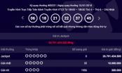 Kết quả xổ số Vietlott 10/1: Jackpot trị giá hơn 26 tỷ đồng vô chủ