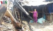 Hỏa hoạn ở TP Mỹ Tho: Dân bức xúc vì không được xây sửa lại nhà