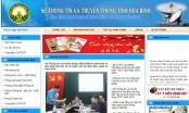 Minh bạch tài sản ở Sở TT&TT tỉnh Hòa Bình, nhiều cán bộ không ghi thông tin tài sản