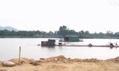 Chấn chỉnh việc khai thác cát trên một số tuyến sông