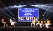 Á hậu Lệ Hằng và Á hậu Nguyễn Thị Loan chấm dự án cộng đồng của thí sinh Hoa hậu Hoàn vũ Việt Nam 2017
