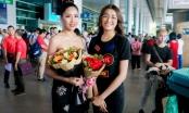 Á hậu Nguyễn Thị Loan rạng rỡ trở về nước sau cuộc thi Miss Univese 2017