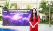 Mai Phương Thúy tăng cân và tròn trịa trông thấy trên ghế giám khảo Hoa hậu Hoàn vũ Việt Nam
