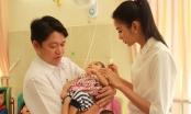 Á hậu Hoàng Thùy mang yêu thương đến trẻ em khuyết tật Củ Chi