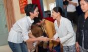 Cận Tết, Hoa hậu Hoàn vũ H'hen Niê mang yêu thương đến Long An
