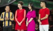 Thúy Ngân, Angela Phương Trinh đùa giỡn nhắng nhít khi đi quay gameshow