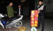 Hà Nam: Bắt quả tang đối tượng vận chuyển gần 30kg pháo nổ