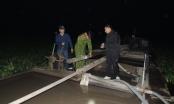 Hà Nam: Bắt tàu hút cát trái phép sử dụng thủ đoạn tinh vi trên sông Châu