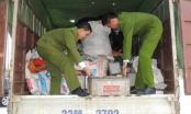 Hà Nam: Lại phát hiện xe ô tô vận chuyển gần 10 tấn ắc quy chì phế thải nguy hại