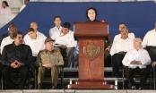 Chủ tịch QH Nguyễn Thị Kim Ngân dự lễ tưởng niệm lãnh tụ Fidel Castro
