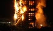 Tòa nhà 24 tầng ở London bốc cháy dữ dội, nhiều người mắc kẹt