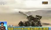 Trung Quốc tập trận rầm rộ gần biên giới Ấn Độ