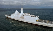 Máy bay Nga kèm tàu chiến Pháp ngay trước vụ không kích Syria