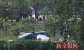 Trung Quốc: Rơi máy bay ở Bắc Kinh, ít nhất 4 người bị thương