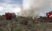 Rơi máy bay chở hơn 100 người tại Mexico