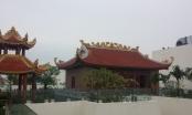 Cận cảnh công trình giống chùa không phép tại Dự án Hòa Bình Green City