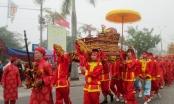 Lễ rước kiệu Ngọc Lộ tại lễ hội khai ấn đền Trần