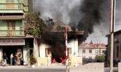 Hà  Nam: Bà hỏa thiêu rụi một bưu điện xã