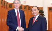 Thủ tướng Nguyễn Xuân Phúc tiếp xúc Bộ trưởng Ngoại giao nước Anh