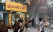 Cháy lớn tại Nguyễn Khang, chân dài hốt hoảng chạy khỏi quán karaoke
