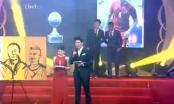 Những sự cố dở khóc dở cười tại Lễ trao giải Quả bóng vàng Việt Nam 2016