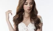 Ngọc Loan (The Face) tinh khôi mà gợi cảm với đầm ren trắng xuyên thấu