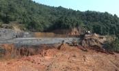 Nghệ An: Đập chứa bùn thải trên núi vỡ tràn ra ngoài, cá nuôi chết trắng