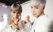 Trịnh Thăng Bình lột xác với mái tóc trắng ấn tượng, hợp tác cùng Phí Phương Anh trong bộ ảnh mới
