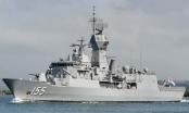 Tàu khu trục hải quân Australia HMAS Ballarat chuẩn bị ghé thăm Đà Nẵng