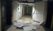 Hà Nội: Nhiều mảng trần ở chung cư Gemek Tower rơi lả tả sau cơn giông