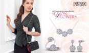 Mai Phương Thúy cuốn hút với trang sức kim cương 'hoa'