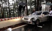 Lâm Đồng: Nhiều người bị thương sau vụ va chạm giữa 4 ô tô tông nhau trên đèo Prenn