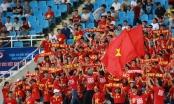 SEA Games 29: Người hâm mộ cháy hết mình vì đội tuyển Việt Nam