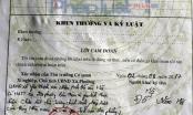 Bút phê trái luật ở Thanh Hóa: Tự nhận kỷ luật rút kinh nghiệm