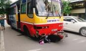 Nam Định: Xe buýt chạy lấn làn, tông chết một nữ hộ sinh