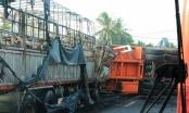 Khánh Hòa: Lao thẳng xe máy vào xe đầu kéo container lúc nửa đêm, người đàn ông tử vong