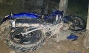 Bắc Giang: Xe máy đâm cột điện, hai thanh niên tử vong tại chỗ