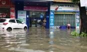 Mưa lớn nhấn chìm TP Vinh, học sinh nhiều trường nghỉ học