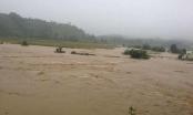 Phú Thọ: Mưa lớn, 2 huyện Thanh Sơn và Tân Sơn bị cô lập