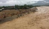 Yên Bái: Người dân lao mình ra dòng lũ vớt trâu bò