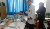 Lâm Đồng: Nối thành công vết thương đứt động mạch đùi