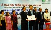 Đà Nẵng trao giấy chứng nhận đăng ký đầu tư cho dự án gần 30 triệu USD