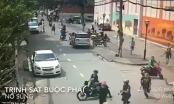 [Clip]: Nghẹt thở với màn vây bắt nhóm đối tượng trộm, cướp xe máy tại Sài Gòn