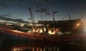 Đà Nẵng: Sau tiếng nổ, chủ tàu hốt hoảng thấy cabin tàu bốc cháy