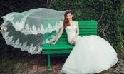 Hồ Ngọc Hà mặc áo cô dâu mừng sinh nhật tuổi 33