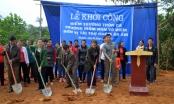 Hà Giang: Khởi công xây dựng điểm trường từ thiện thôn Ca