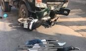 Hưng Yên: Xe máy tông trực diện vào đầu ôtô tải, 1 người nguy kịch