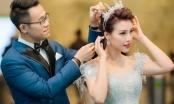 Tái hợp cùng MC Đức Bảo, MC – Á hậu Hoàng Oanh lộng lẫy chào đón năm mới
