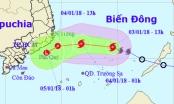 Dự báo thời tiết ngày 4/01: Bão số 1 suy yếu thành áp thấp nhiệt đới