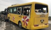 Lật xe khách chở công nhân về quê ăn Tết, 13 người thương vong